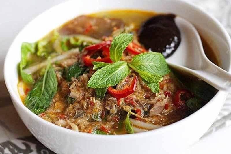 Du lịch Malaysia thưởng thức món mỳ Penang Assam Laksa