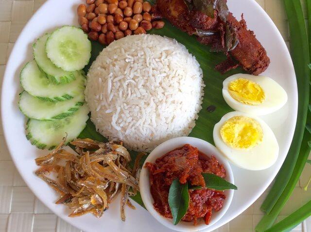 Du lịch Malaysia thưởng thức Nasi Lemak