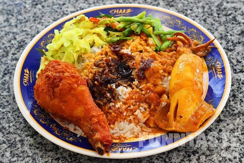 Du lịch Malaysia thưởng thức món Nasi kandar