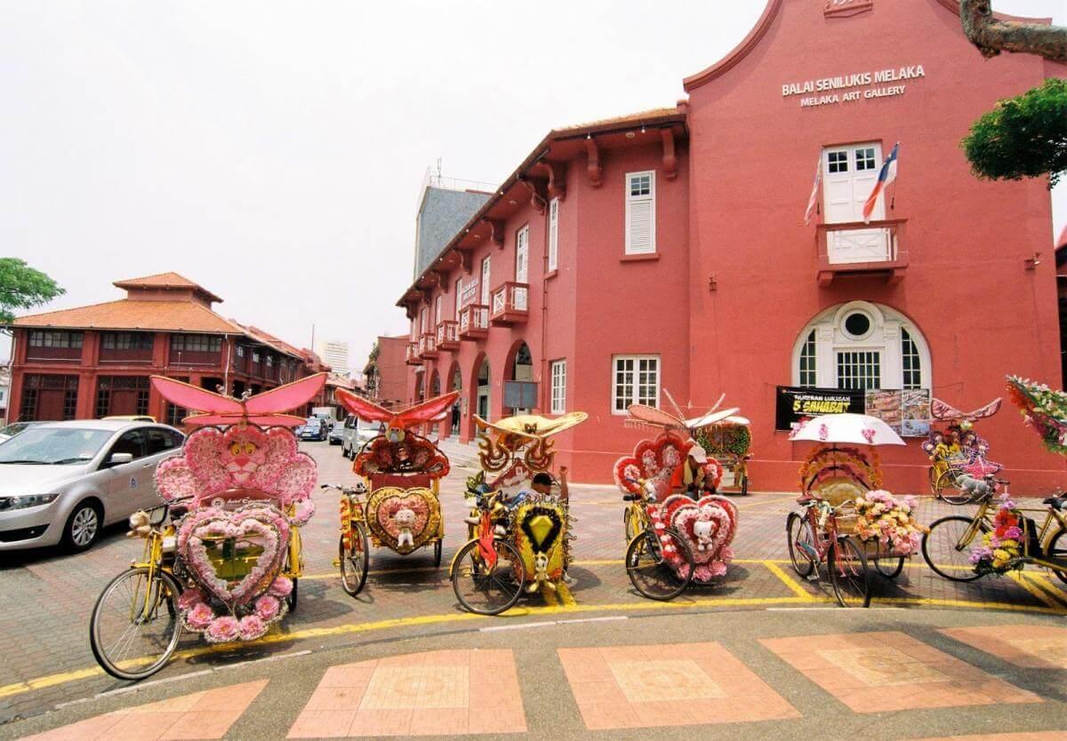 Du lịch Malaysia tham quan thành phố cổ Malacca