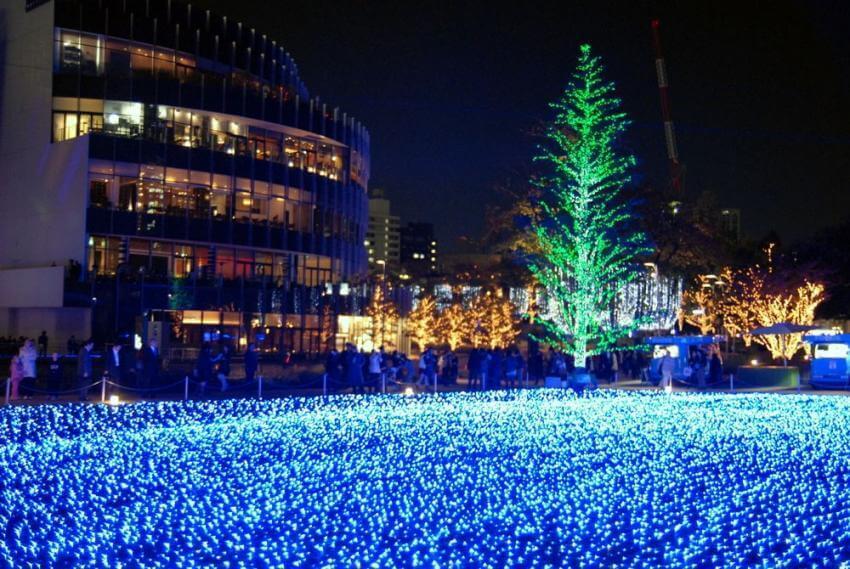 Du lịch Nhật Bản tham gia Lễ hội ánh sáng Tokyo Midtown