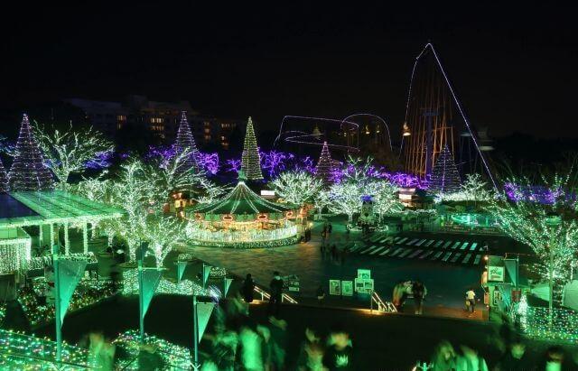 Du lịch Nhật Bản tham gia lễ hội ánh sáng Yomiuri Land Jewellumination