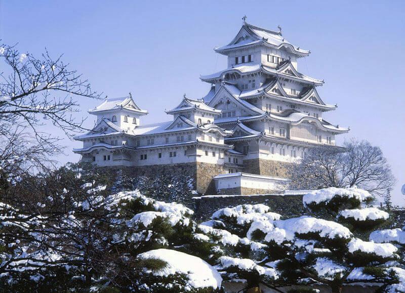 Du lịch Nhật Bản mùa Đông khám phá Lâu đài Himeji