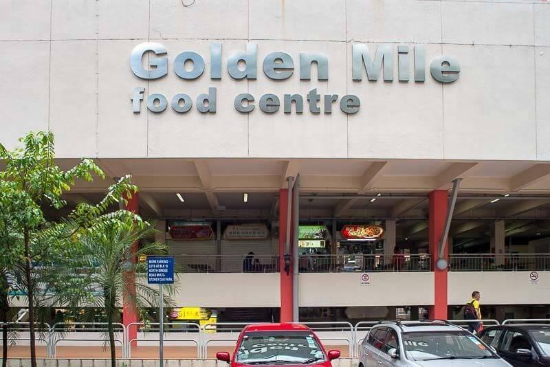 Du lịch Singapore khám phá ẩm thực ở Golden Mile
