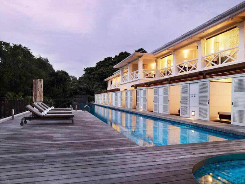 Amara Sanctuary Resort Sentosa Singapore cực kỳ gần gũi với thiên nhiên