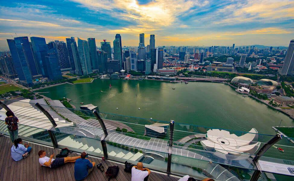 Du lịch Singapore - Công viên Sands SkyPark