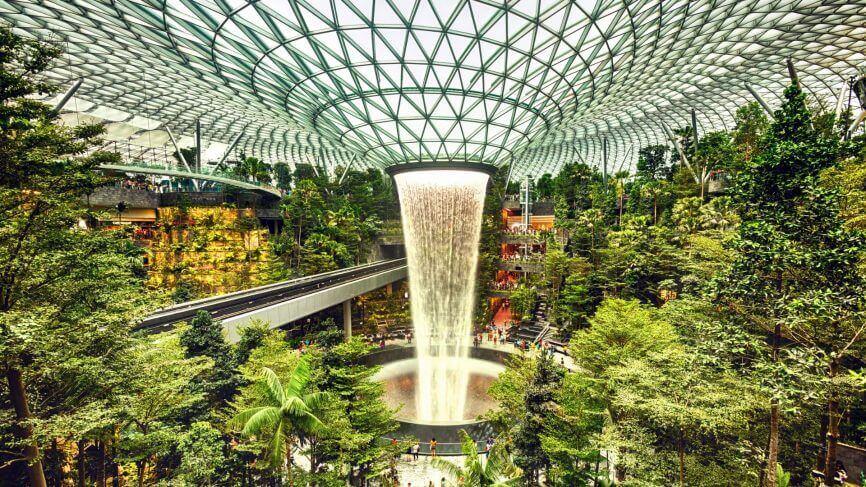 Du lịch Singapore khám phá Jewel Changi