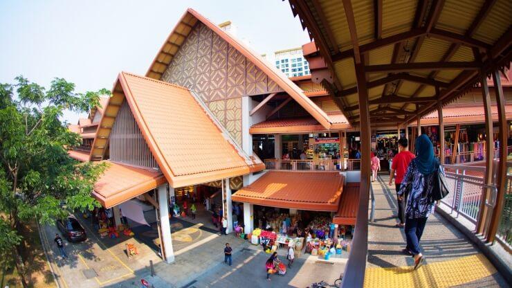 Du lịch Singapore thưởng thức ẩm thực tại khu chợ mới Geylang Serai