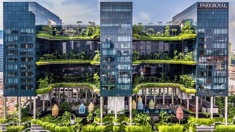 Du lịch Singapore - khách sạn parkroyal
