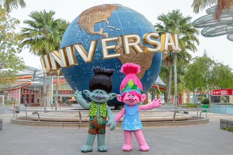 Du lịch Singapore ghé thăm phim trường Universal Studios