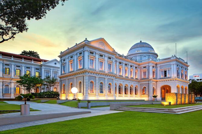 Nếu du lịch Singapore đừng bỏ qua bào tàng quốc gia Singapore