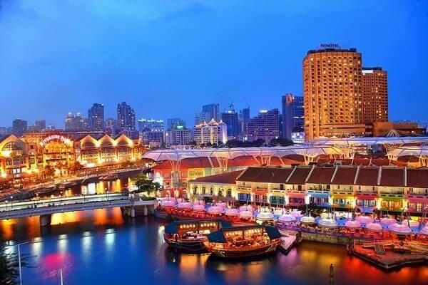 Du lịch Singapore mùa Thu - Clarke