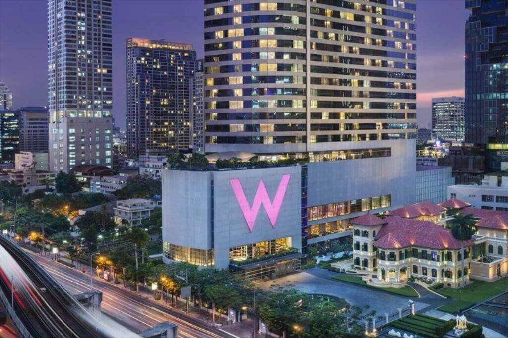 Du lịch Thái Lan - khách sạn W Bangkok