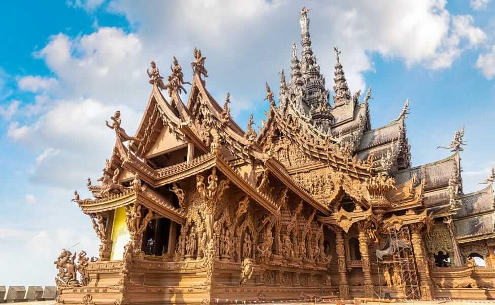 Du lịch Thái Lan khám phá Sanctuary of Truth
