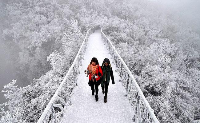 Du lịch Trung Quốc mùa Đông tháng mấy lý tưởng