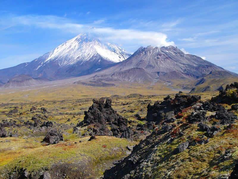 Du lịch châu á -  Núi lửa Kamchatka