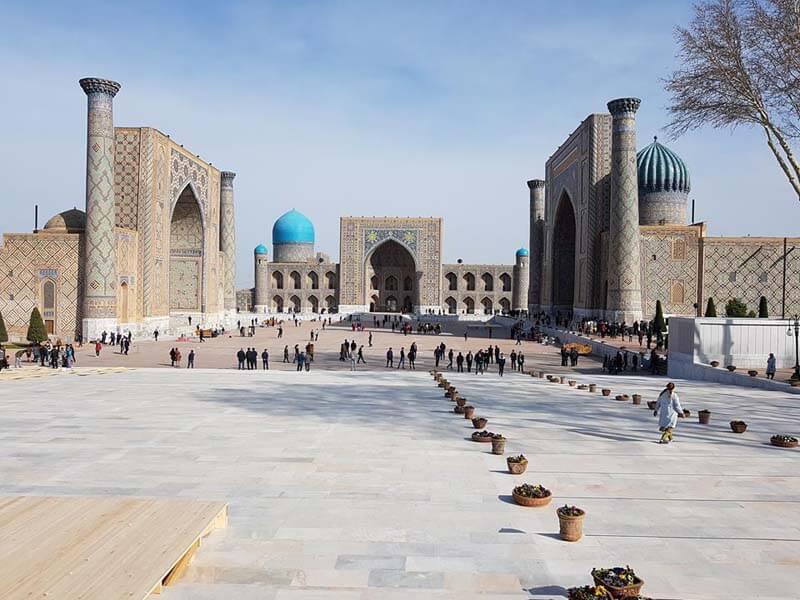 Du lịch châu á - Trung tâm lịch sử của Bukhara