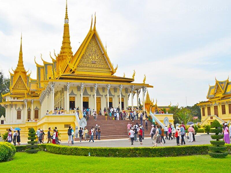 Campuchia là điểm du lịch châu Á không cần xin visa