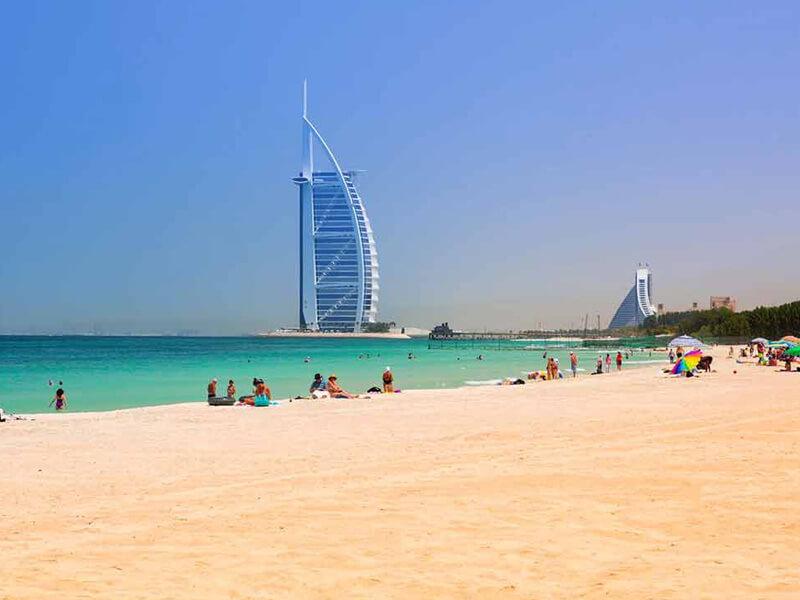 Du lịch Dubai - bãi biển Jumeirah