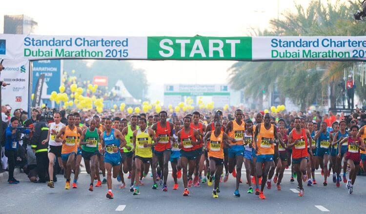Du lịch Dubai - Marathon