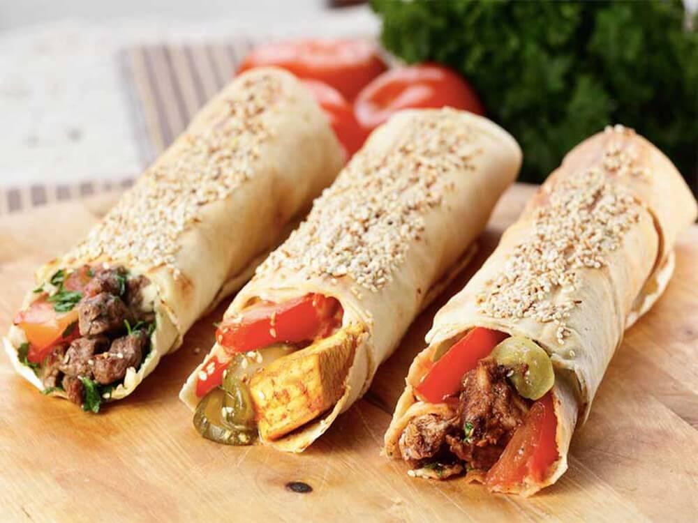 Du lịch Dubai - Shawarma