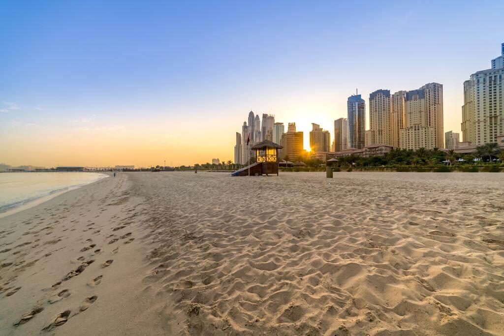 Bãi biển JBR - điểm du lịch nổi tiếng Dubai