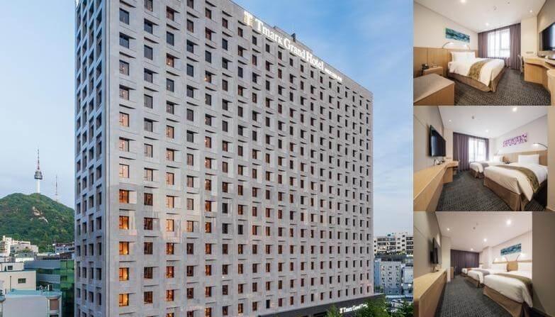Du lịch Hàn Quốc - Tmark Grand Hotel Myeongdong