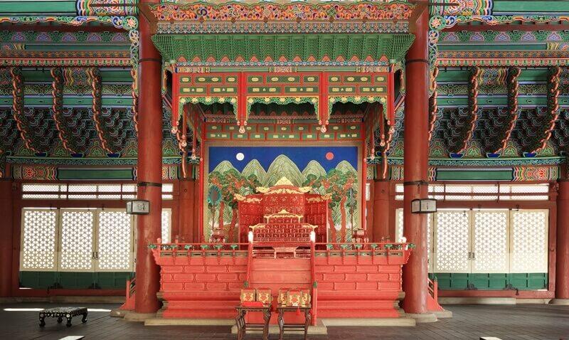 Du lịch Hàn Quốc - Cần Chính Điện