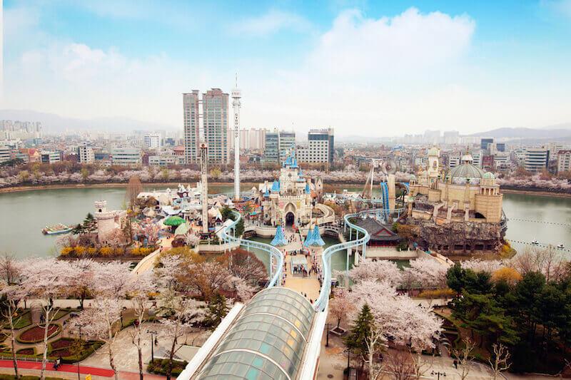Ghé thăm Lotte World - Điểm du lịch Hàn Quốc thu hút 8 triệu lượt khách/năm