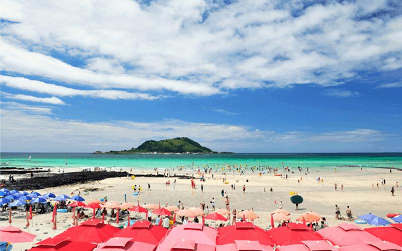 Du lịch Hàn Quốc khám phá biển Uurwangni