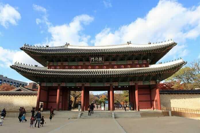 Du lịch Hàn Quốc khám phá hoàng cung Changdeokgung