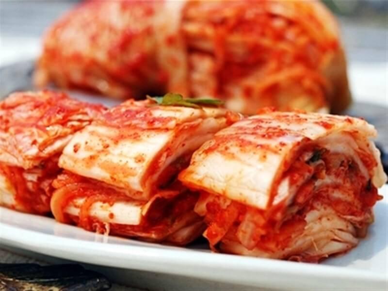 Kim chi được xem là món ăn quốc dân tại Hàn Quốc