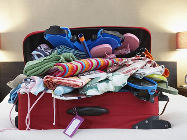 Du lịch Hàn Quốc - Đừng cố gắng nhét đầy hàng hóa vào vali