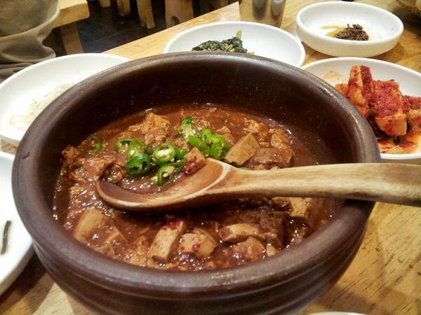 Du lịch Hàn Quốc - súp cá thối