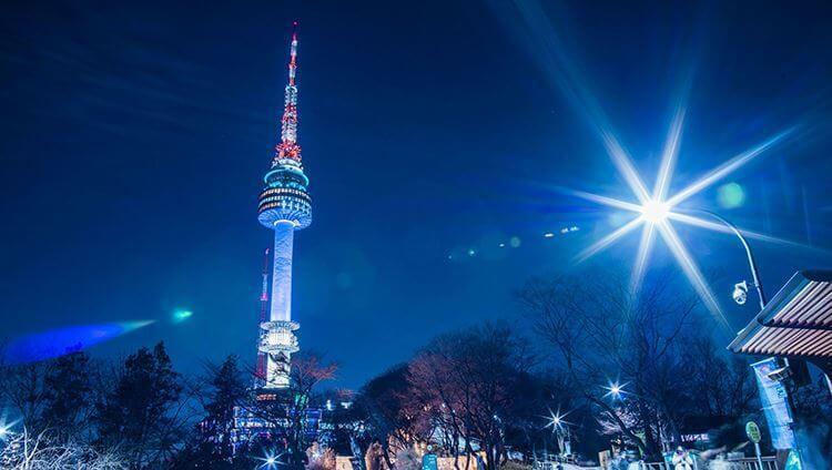 Du lịch Hàn Quốc - điểm đến Namsan