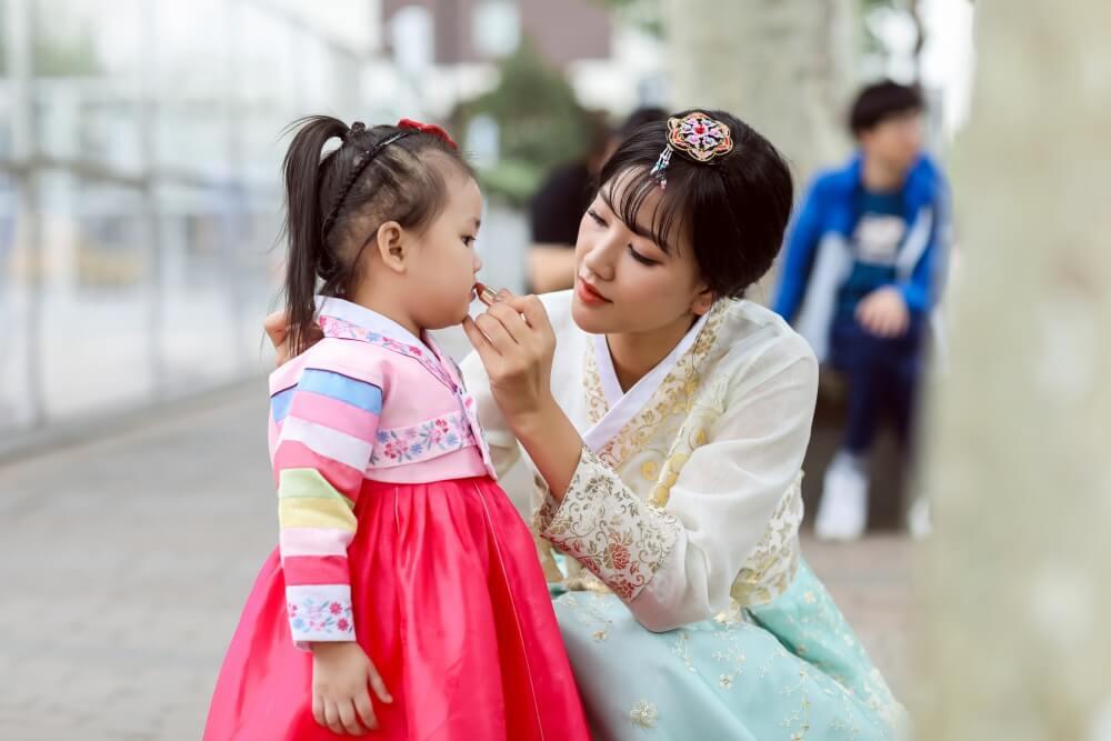 Du lịch Hàn Quốc cùng con nhỏ