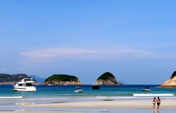 Du lịch Hồng Kông khám phá biển đảo