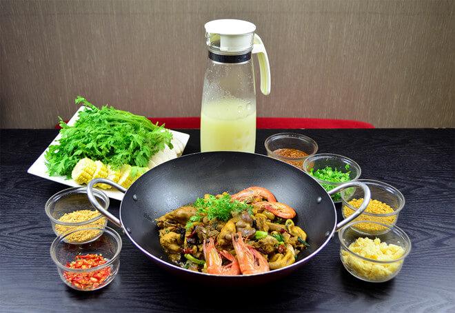 Lẩu khô - Món ăn độc đáo cho những du khách du lịch Hồng Kông