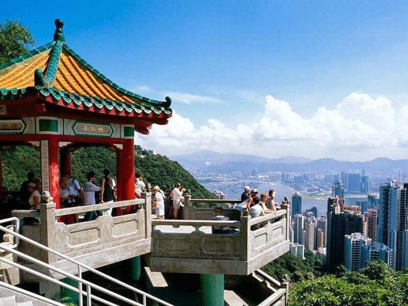 Du lịch Hồng Kông - Núi Thái Bình