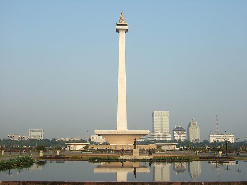 Monas - công trình kiến trúc nổi tiếng của Indonesia