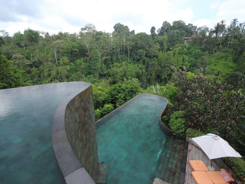 Ubud Hanging Gardens được ví là địa điểm nghỉ dưỡnggây thương nhớ tại Indonesia