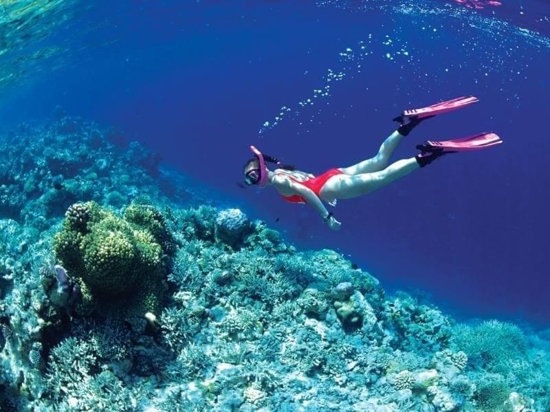 du lịch Indonesia khám phá biển Hồng xinh đẹp