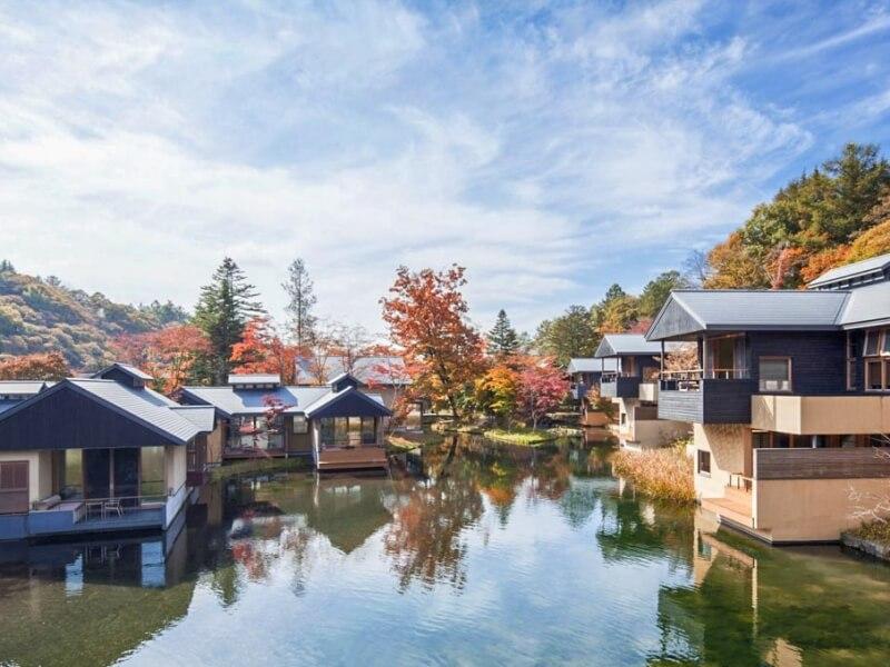 Tới Karuizawa qua các tour Nhật Bản du khách cũng có dịp được tận hưởng không khí yên bình