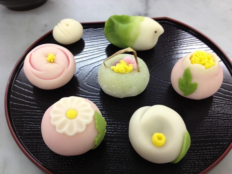 Bánh Wagashi có vẻ đẹp độc đáo và đáng yêu
