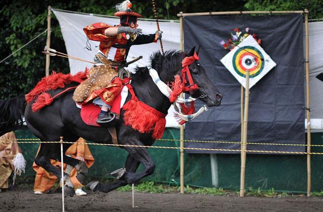 Du lịch Nhật Bản xem lễ hội Yabusame