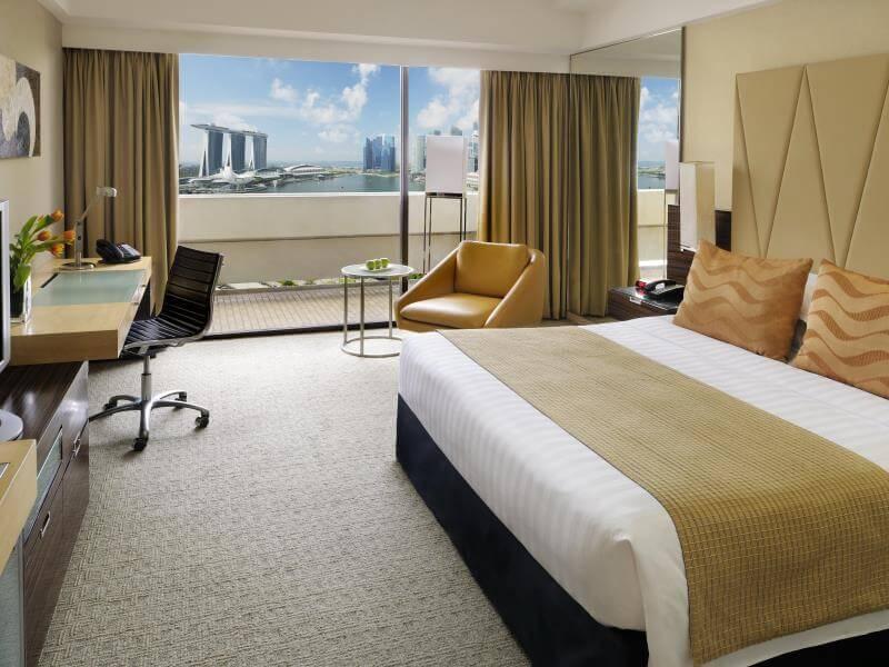 Khách sạn Mandarin Orchard - Điểm nghỉ dưỡng tuyệt vời cho khách du lịch Singapore