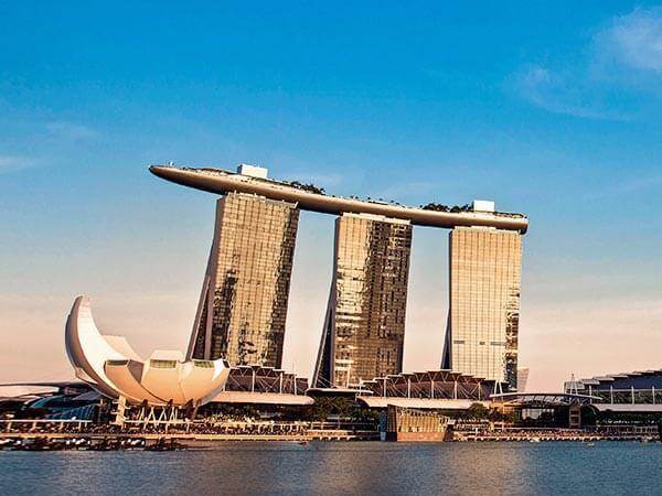Marina Bay Sands là điểm đến nổi tiếng trong tour du lịch Singapore