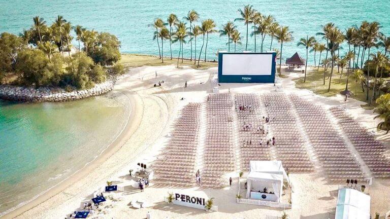 Nếu du lịch Singapore phải trải nghiệm rạp chiếu phim Hoàng hôn Peroni