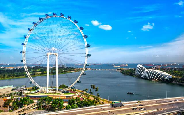 Singapore Flyer hiện tại đang sở hữu 28 cabin