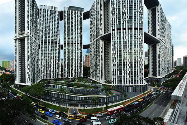 Du lịch Singapore - Tòa nhà Pinnacle an Duxton